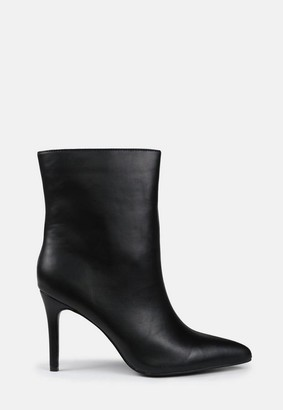 Missguided Mid Heel Ankle Boots