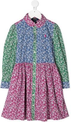 Ralph Lauren Kids Girls Floral Dress