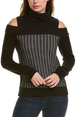 Tsesay Cold-Shoulder Sweater