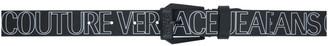 Versace Black Allover Logo Belt