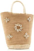 Poolside Exclusive Summer Lovin' Embellished Straw Tote