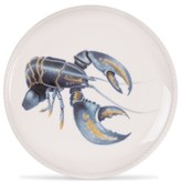 Fitz & Floyd Cape Coral Collection Lobster Accent Plate