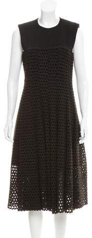 Calvin Klein Collection A-Line Guipure Lace Dress w/ Tags