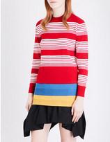 J.W.Anderson Striped merino wool jumper