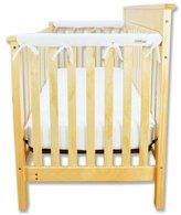 Trend Lab Cribwrap® Narrow Rail Cover Color: White