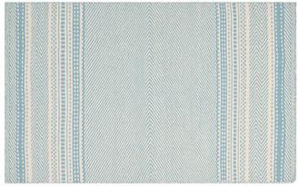 """One Kings Lane Unai Kilim - Light Blue - 2'6""""x4'"""