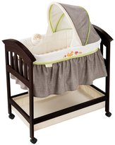 Summer Infant Fox & Friends Classic Comfort Wood Bassinet - Espresso Stain