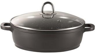 Baccarat Granite Non Stick Saute Pan with Lid 32cm