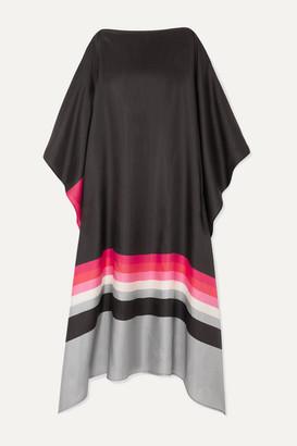 Louisa Parris - Fillmore Printed Silk-twill Dress - Pink