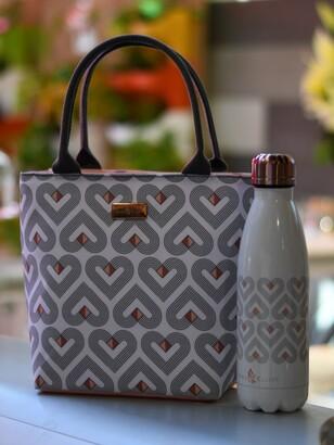 Beau & Elliot Vibe Lunch Cooler Tote Bag, 2L, White/Multi