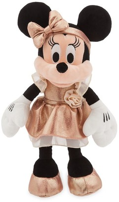 Disney Minnie Mouse Plush Rose Gold - Small 12''