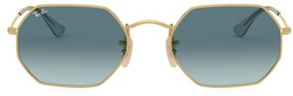 Ray-Ban RB3556 53MM Icons Octagonal Sunglasses