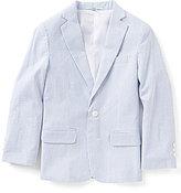 Class Club Big Boys 8-20 Striped Seersucker Jacket