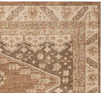 Pottery Barn Cleo Handknotted Rug Swatch - Neutral Multi