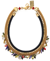 Lizzie Fortunato Primary Crystal Necklace