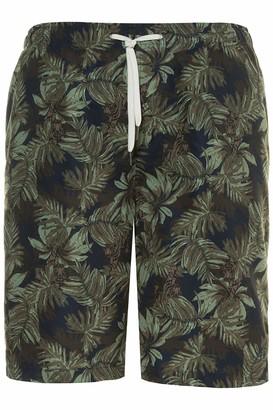 JP 1880 Men's Big & Tall Swim Shorts Khaki XXXXXXX-Large 726923 44-7XL
