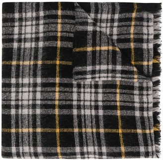 Isabel Marant Plaid Scarf