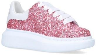 Alexander McQueen Glitter Galaxy Runway Sneakers