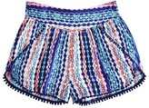 Ella Moss Girls' Jaya Printed Shorts - Sizes 7-14