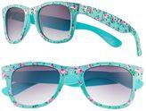 Women's SO® Floral Retro Square Sunglasses