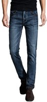Port&Lotus Men Jeans Slim Fit Skinny Stretched