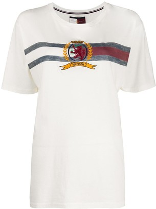 Tommy Hilfiger embroidered branded T-shirt