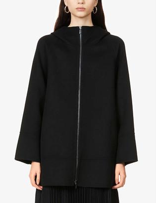 S Max Mara Mozart wool hooded coat
