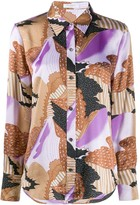 Equipment Sedienne abstract-print shirt