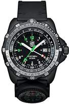 Luminox RECON NAV SPC - mile scale Men's Quartz watch with Black dial featuring LLT light Technology 46 millimeters Carbon Compound case and Black PU Strap XL.8832.MI