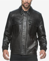 Andrew Marc Andover Leather Bomber