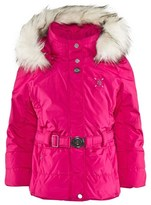 Poivre Blanc Pink Infant Belted Ski Jacket