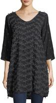 Johnny Was Flower Patch Georgette Tunic, Plus Size