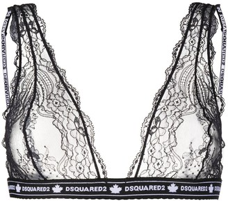 DSQUARED2 Sheer Lace Bra