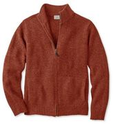 L.L. Bean Bean's Classic Ragg Wool Sweater, Full-Zip