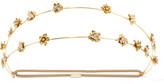 Jennifer Behr Gold-plated Swarovski Crystal Headband - one size