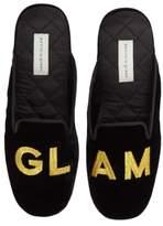 Patricia Green Women's 'Glam' Scuff Slipper