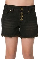 O'Neill 'Shiloh' Cutoff Denim Shorts (Little Girls & Big Girls)