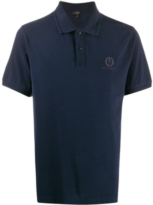 Belstaff logo embroidered polo shirt
