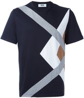 MSGM paneled T-shirt