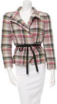 Isabel Marant Plaid Belted Coat