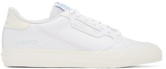 adidas White Unity Edition Continental Vulc Sneakers