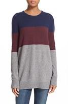 Equipment Women's 'Rei' Colorblock Cashmere Sweater