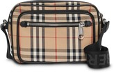 Burberry Vintage Check and Leather Crossbody Bag