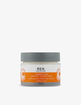 REN Overnight Glow Dark Spot Sleeping Cream 50ml