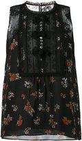 Coach roses print sleeveless blouse - women - Silk/Cotton/Polyamide/Cupro - 4