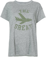 The Great logo printed T-shirt - women - Cotton/Polyester/Rayon - 2