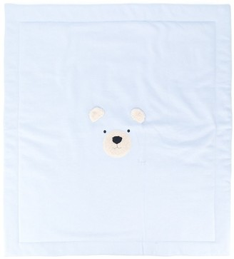 Il Gufo Teddy Embroidered Blanket
