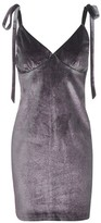 Jaded London **Glitter Velvet Camisole Dress