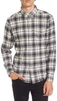 Naked & Famous Denim Regular Fit Plaid Flannel Sport Shirt