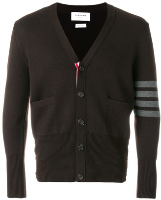 Thom Browne 4-Bar Milano Stitch Cardigan